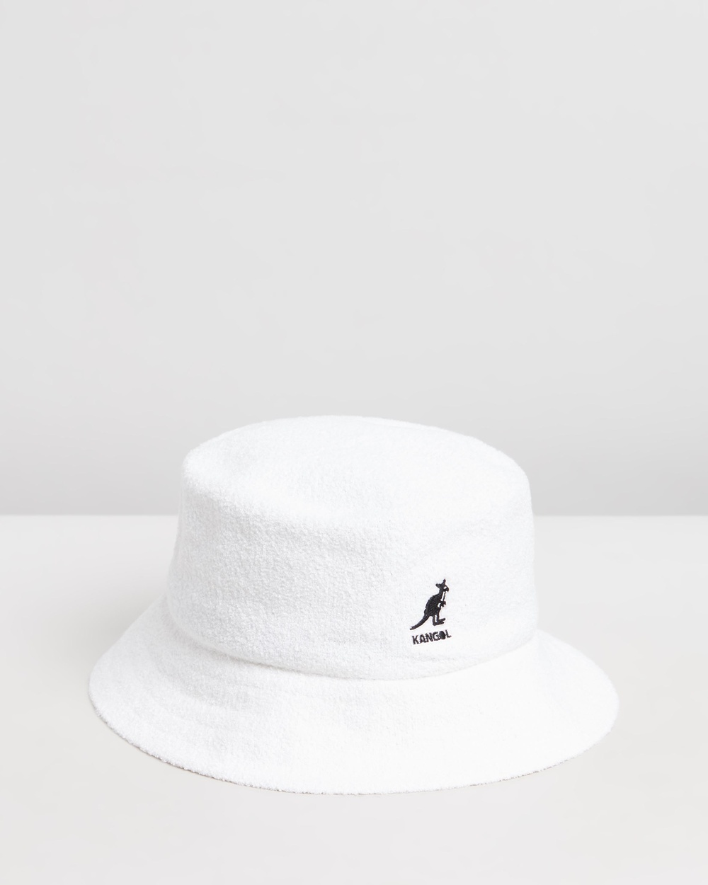 Kangol Bermuda Bucket Hat Hats White