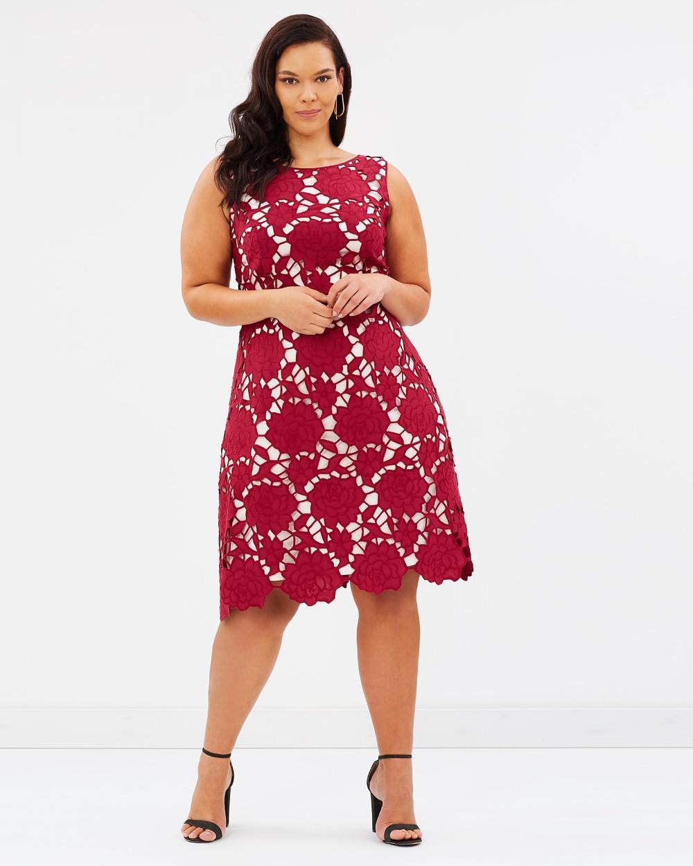 Studio 8 Melody Dress Dresses Berry Melody Dress