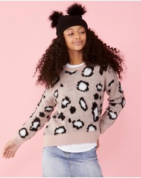 Decjuba Kids - Piper Animal Jumper - Teens