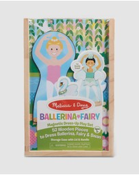 Melissa & Doug - Ballerina Fairy Magnetic Dress-Up Play Set