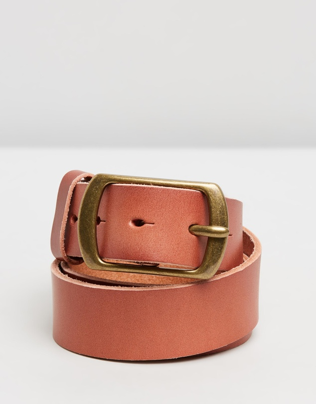 Scotch & Soda - Classic Wide Leather Belt