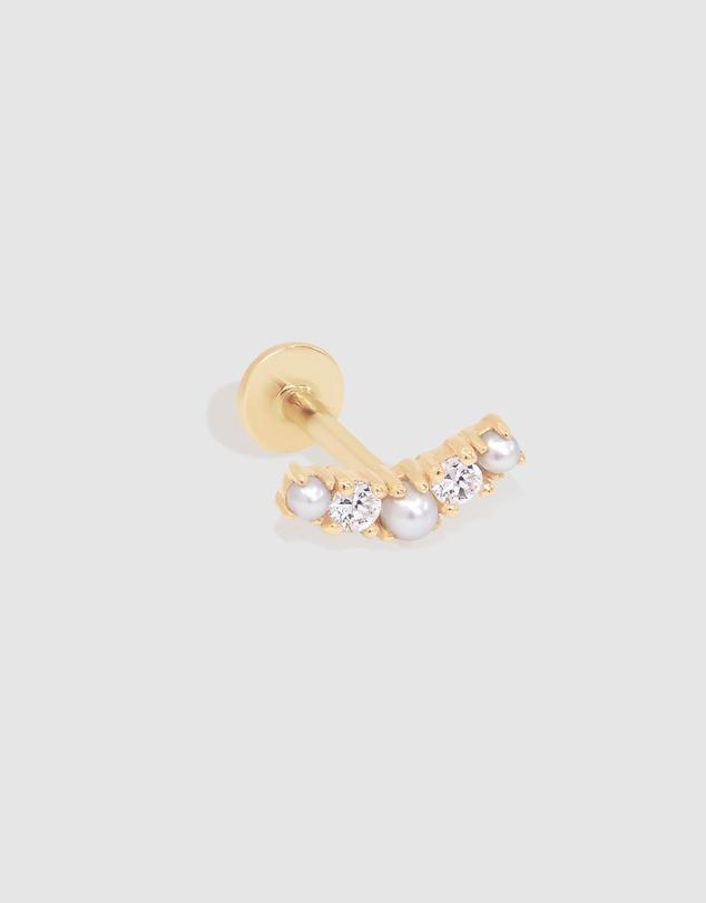 Women 14k Gold Whimsical Cartilage Earring - 6.5mm