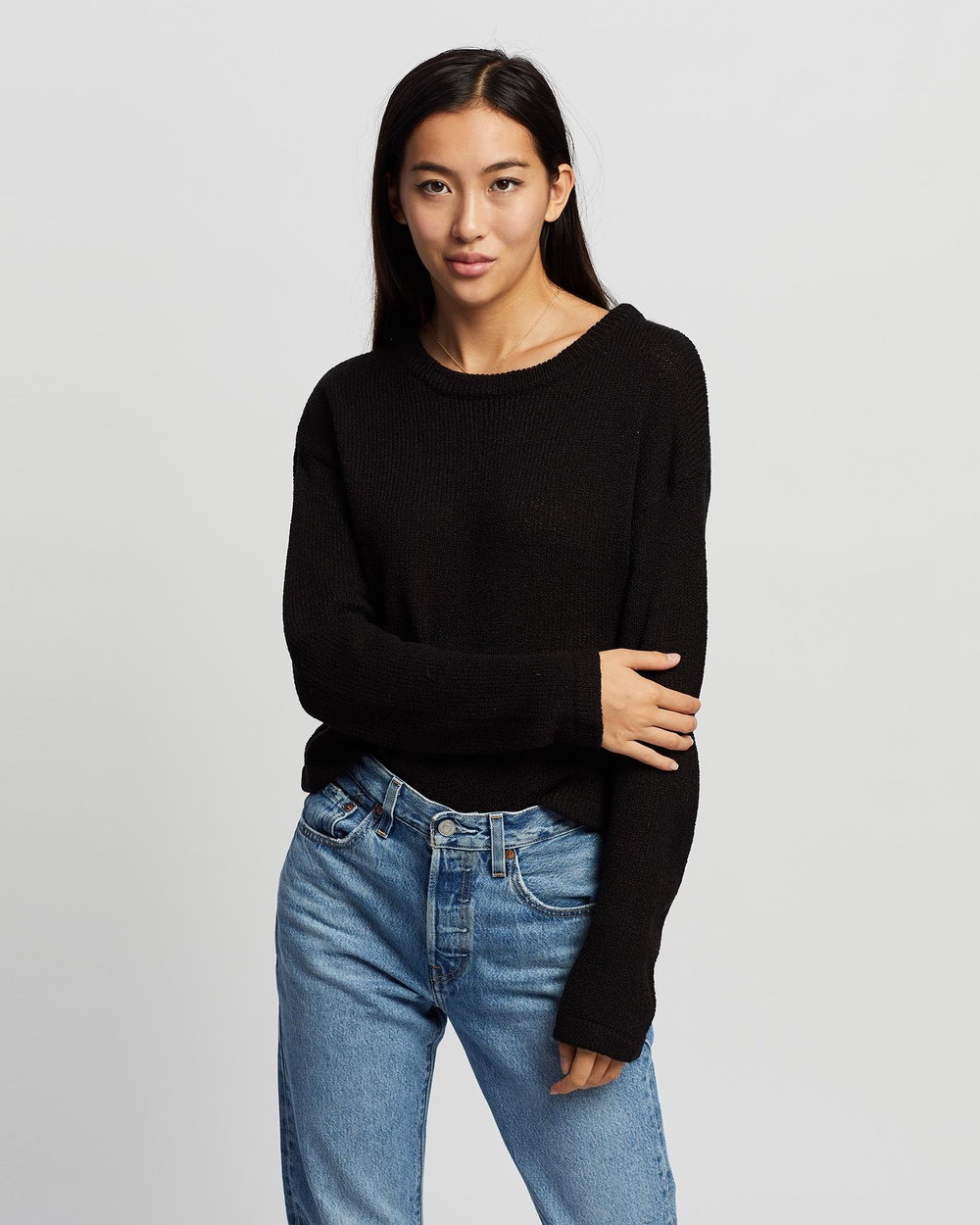 All About Eve Kindred Knit Jumpers & Cardigans BLACK