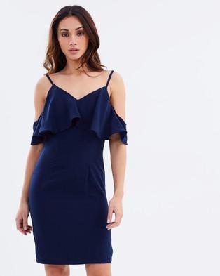 Chi Chi London – Martha Dress Navy