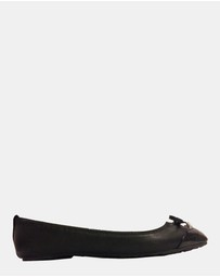 Flipsters - Lily Flats Black