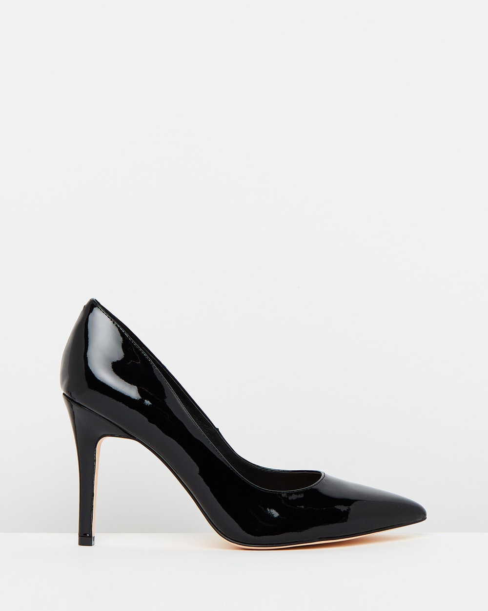 Atmos & Here ICONIC EXCLUSIVE Elaine Leather Pumps All Pumps Black Patent ICONIC EXCLUSIVE Elaine Leather Pumps