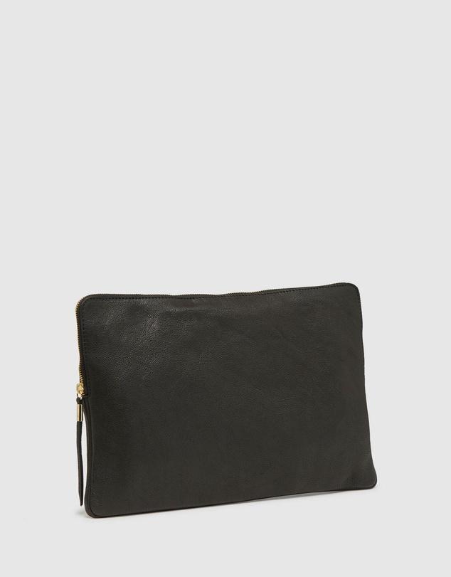 Men Brock Leather Laptop Case