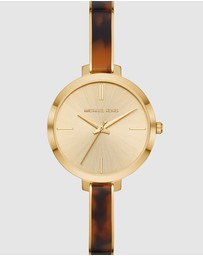 Michael Kors - Jaryn Gold-Tone Analogue Watch