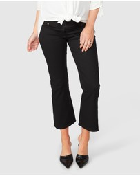 Pea in a Pod Maternity - Lennon Cropped Flare Jeans