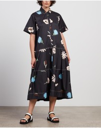 Lee Mathews - Bloomsbury Lantern Shirt-Dress