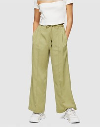 TOPSHOP Petite - Wide Leg Jogger Style Trousers