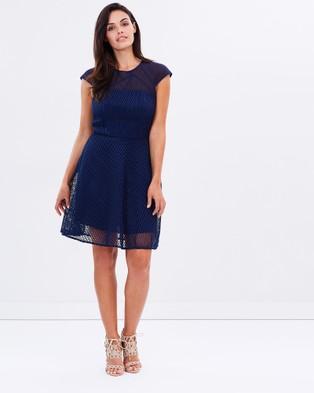 Honey and Beau – Maverick Flip Dress – Dresses (Navy)