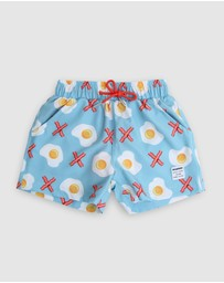 Mosmann - Bacon in X Swim Shorts - Kids