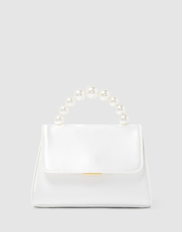 Forever New - Penny Pearl Top Handle Mini Bag