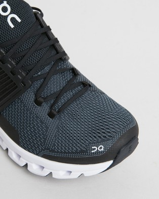 On Running Cloudswift   Women's - Performance Shoes (Black  Rock)