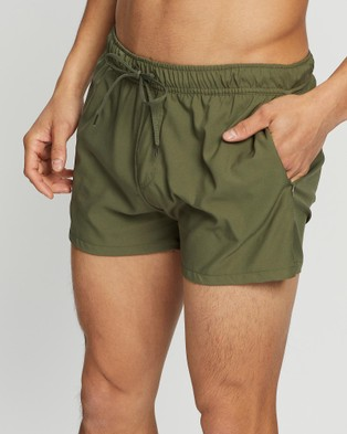 TEAMM8 Bolt Shorts - Shorts (Olive)