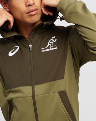 ASICS Training Hoodie - Rugby Union (Brownstone)