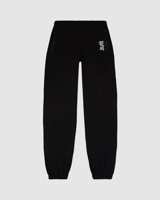 Les Girls Les Boys Loopback Slim Joggers - Sweatpants (Black)