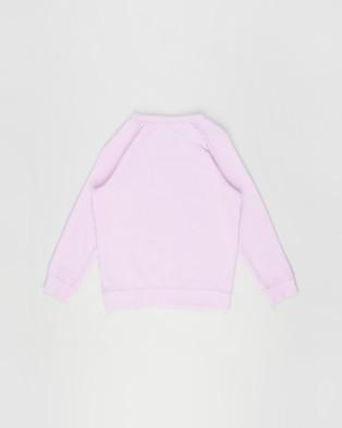 Cotton On Kids - Mila Crew Teens Sweats (Pale Violet & Unicorn Floral) Kids-Teens
