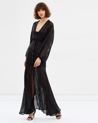 Asilio – Star Fall Dress Black & Gold