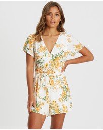 Calli - Stepha Belted Playsuit