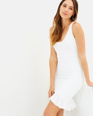 Fresh Soul – Tiana Dress – Bodycon Dresses White