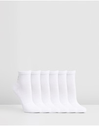 Under Armour - UA Charged Cotton 2.0 Quarter Socks