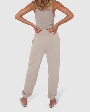 Madison The Label Est 2010 Track Pants - Pants (Stone)