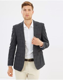 Burton Menswear - Tailored Fit Check Suit Jacket