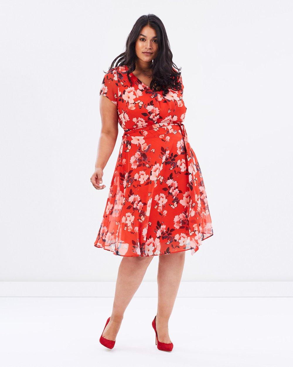 f13c651b89e Floral Print Dress by DP Curve Online