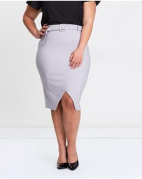Atmos&Here Curvy - ICONIC EXCLUSIVE - Penny Pencil Skirt