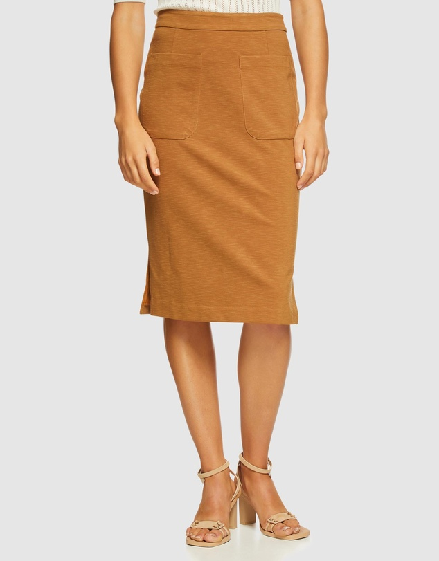 Oxford - Katie Patch Pocket Skirt
