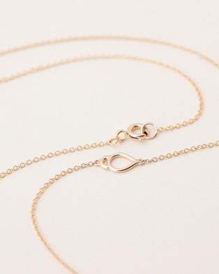 Natalie Marie Jewellery Oana Necklace - Jewellery (9CT Yellow Gold)
