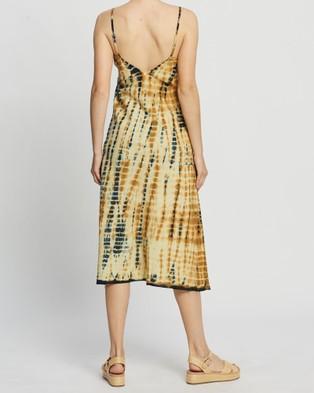 LENNI the label Inca Slip Dress - Printed Dresses (Python)