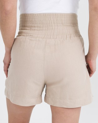 Kate Douglas Designs The Ava Support Shorts - High-Waisted (Neutral)