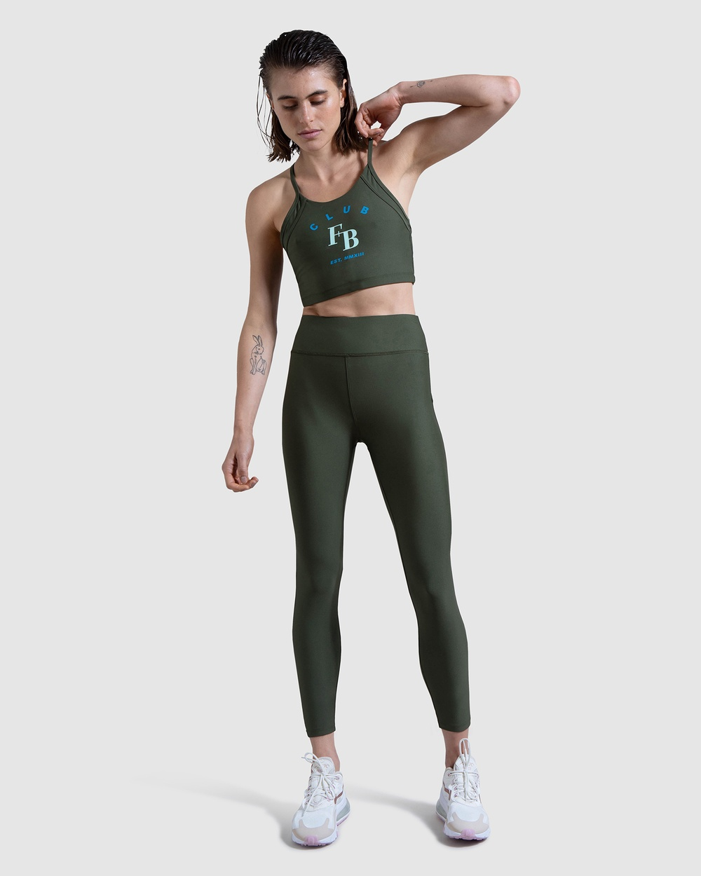 First Base Heritage 7 8 Leggings Compression Bottoms Green 7-8