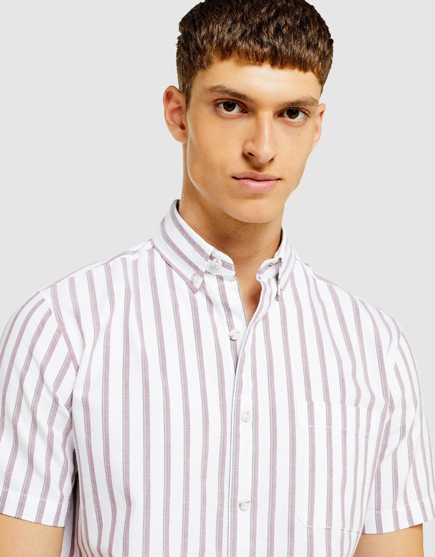 Topman - SS Stripe Oxford Shirt