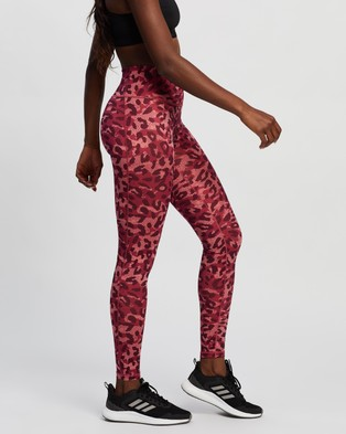 adidas Performance Believe This Graphic Long Tights - Full Tights (Hazy Rose & Print)