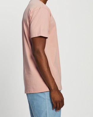 Locale Heavy SS Work Tee - T-Shirts & Singlets (Pink)