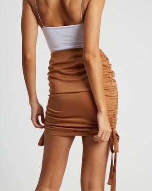 BWLDR Neptune Skirt - Skirts (Tan)