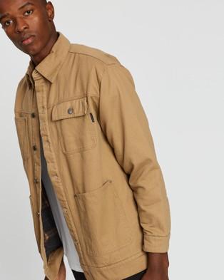 Rusty Charles Chore Jacket - Coats & Jackets (Latte)