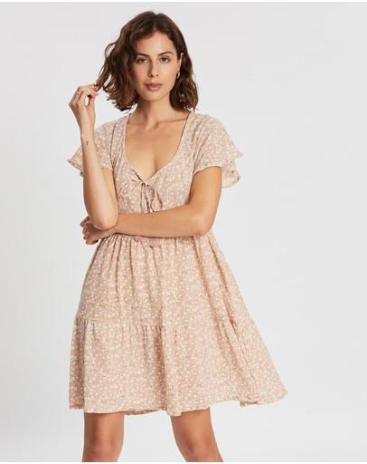 Barefoot Blonde Mia Swing Dress Rosé