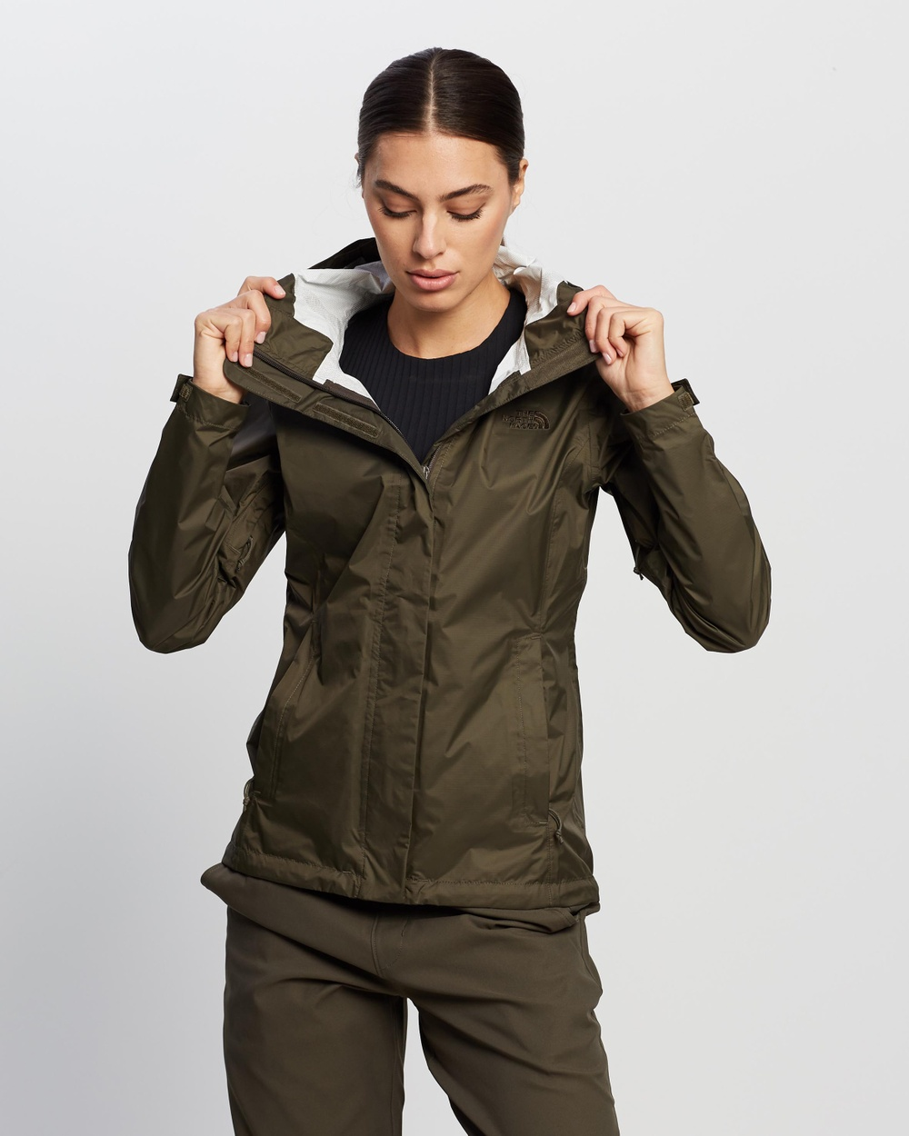 The North Face Venture 2 Jacket Coats & Jackets Taupe Green