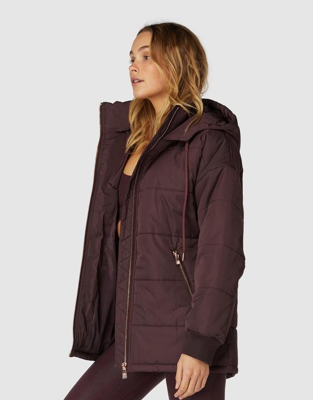 Women Arctic Black Puffer Jacket