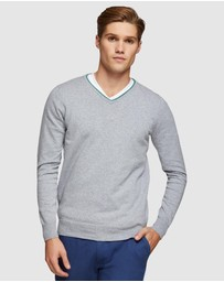 Oxford - Perry Tipping V-Neck Pullover