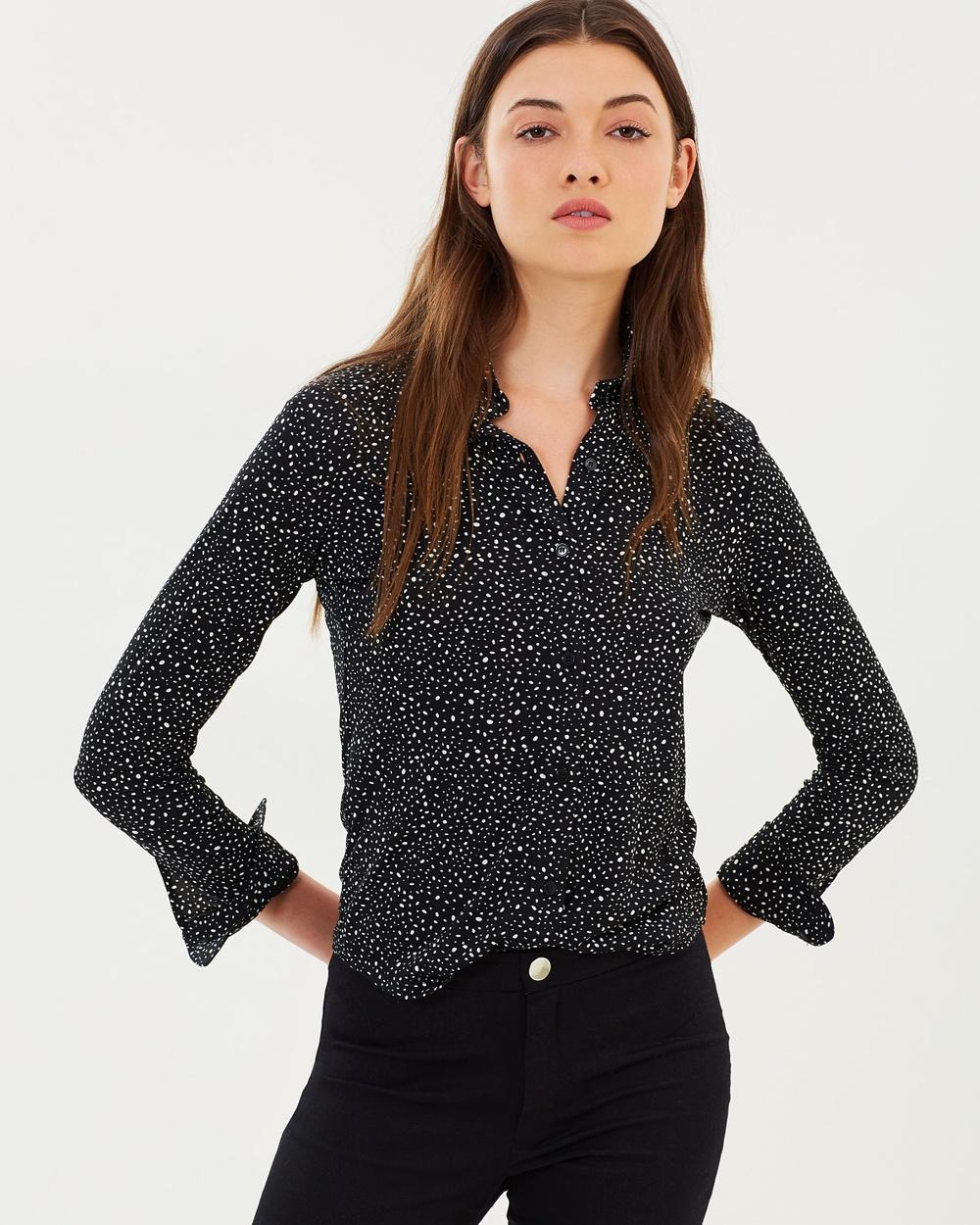 M.N.G Cami Cami Shirt Tops Black Cami Cami Shirt
