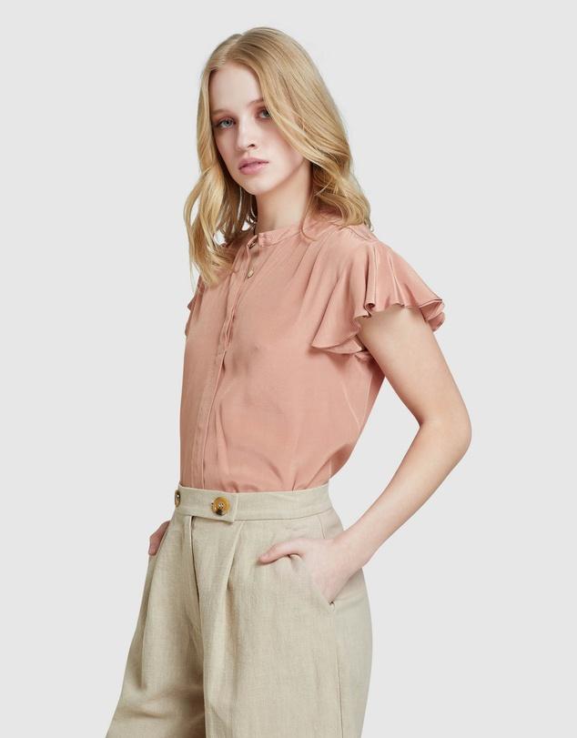 Women Freya Short Sleeve Blouse