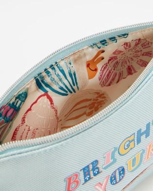 Cath Kidston Matt Zip Makeup Bag - Toiletry Bags (Brighten Up Your Day)