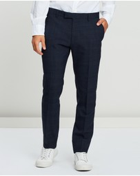 Ben Sherman - Textured Check Trousers