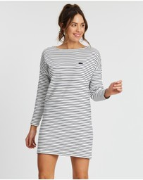 Lacoste - LS Stripe Dress